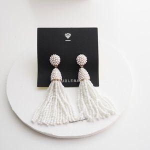 Anthro Baublebar Piñata Tassel Drop Earrings